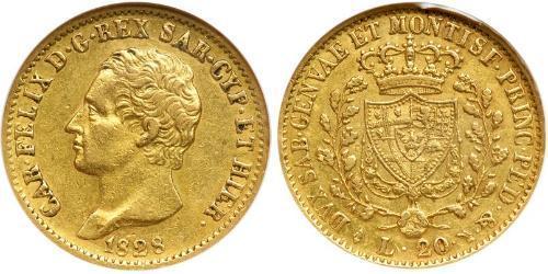 20 Lira Italia / Italian city-states Oro