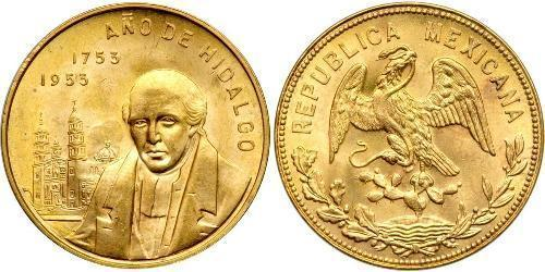 20 Peso United Mexican States (1867 - ) Gold Miguel Hidalgo