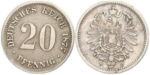 20 Pfennig Allemagne
