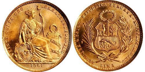 20 Sol Perú Oro