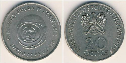 20 Zloty Poland Copper-Nickel