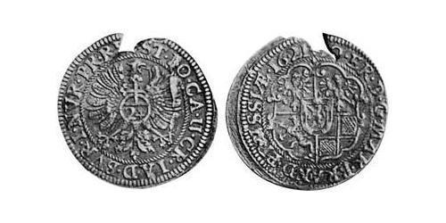 24 Kreuzer Principality of Ansbach (1398–1792) Silver Joachim Ernst, Margrave of Brandenburg-Ansbach (1583 – 1625)