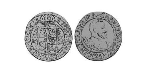 24 Kreuzer Principality of Transylvania (1571-1711) Silver