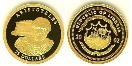 25 Доллар Либерия