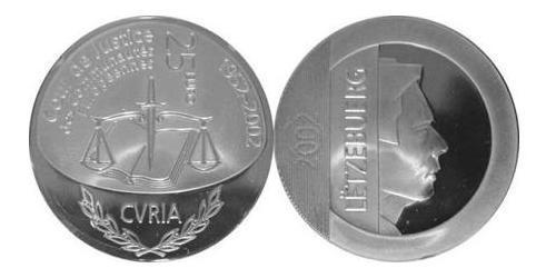 25 Евро Люксембург Серебро