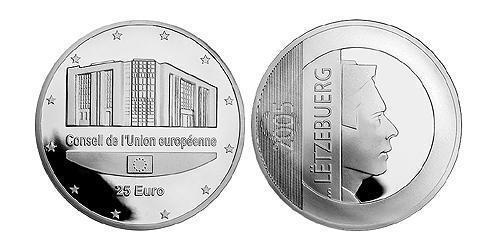 25 Евро Люксембург