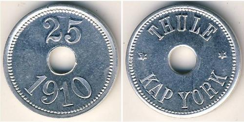 25 Эре Гренландия Алюминий