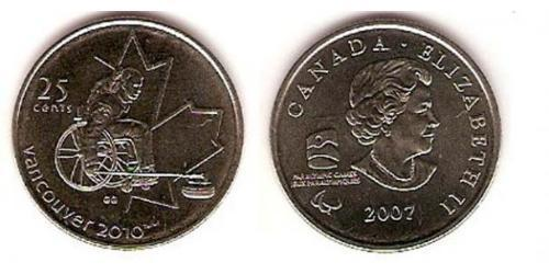 25 Cent Canada Copper/Nickel