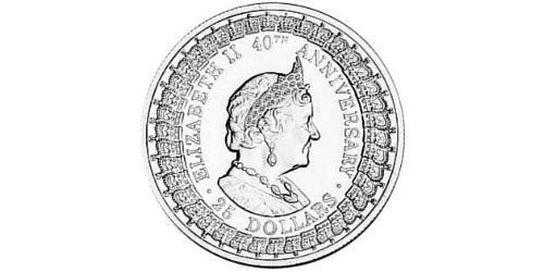 25 Dollar Australia (1939 - ) Silver