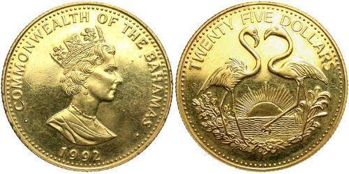 25 Dollar Bahamas
