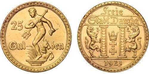 25 Gulden Gdansk (1920-1939) Oro