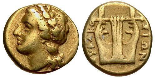 25 Litrai Ancient Greece (1100BC-330) Electrum