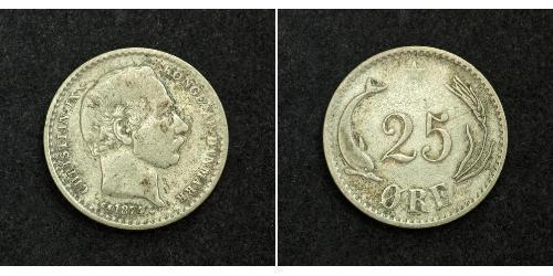 25 Ore Denmark Silver