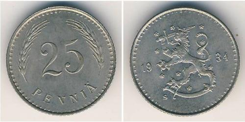 25 Penny 芬兰 銅/镍
