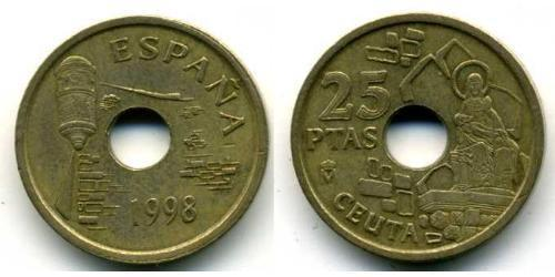 25 Peseta Kingdom of Spain (1976 - ) Bronze/Aluminium