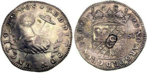 28 Stiver Dutch Republic (1581 - 1795) Silver