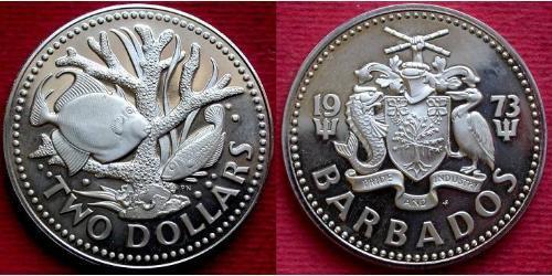 2 Доллар Барбадос