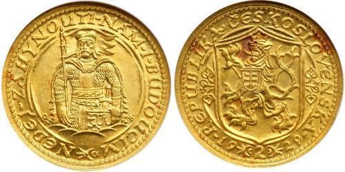 2 Дукат Чехословакия (918-1992) Золото