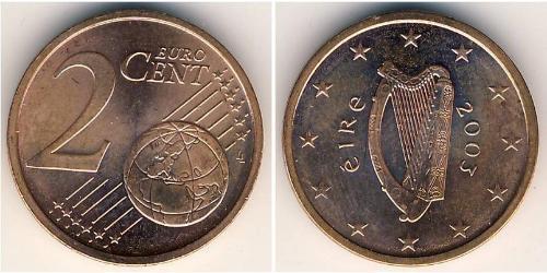 2 Евроцент Ирландия (1922 - ) Сталь/Медь