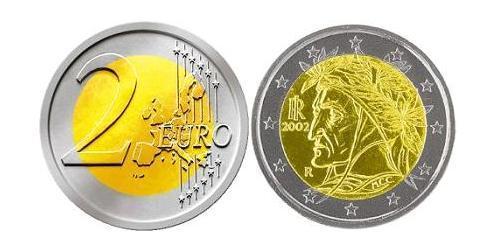 2 Евро Италия Биметалл