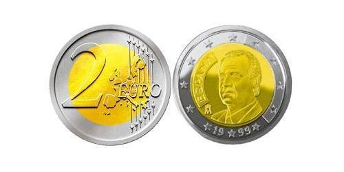 2 Евро Королевство Испания (1976 - ) Биметалл