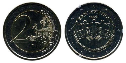 2 Евро Сан-Марино Биметалл