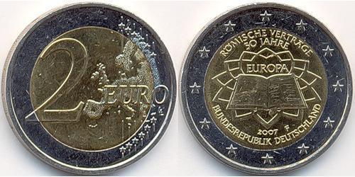 2 Евро Германия Никель/Медь