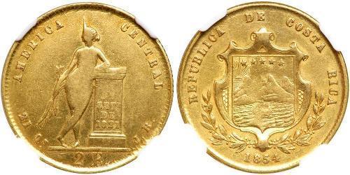 2 Ескудо Коста-Ріка Золото