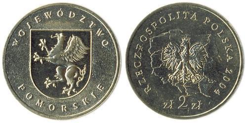 2 Злотий Республіка Польща (1991 - )