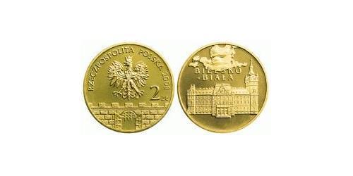 2 Злотый Республика Польша (1991 - ) Алюминий/Цинк/Олово/Медь