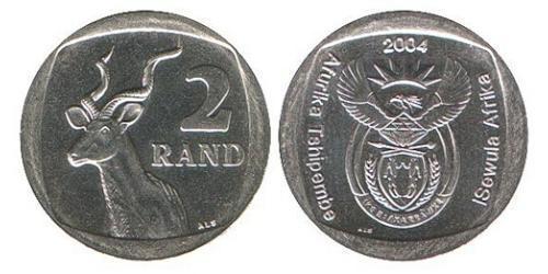2 Ранд Южно-Африканская Республика Никель/Медь