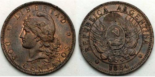 2 Сентаво Аргентинская Республика (1861 - )