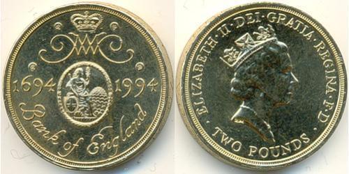 2 Фунт Великобритания