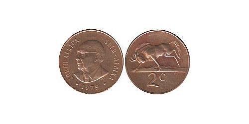 2 Цент Южно-Африканская Республика Бронза