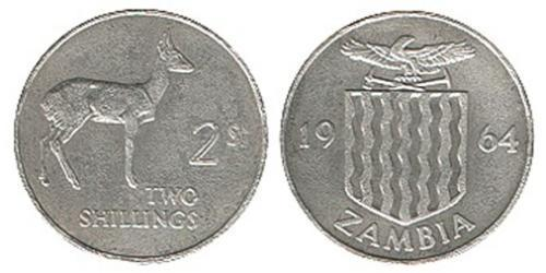 2 Шиллинг Замбия (1964 - ) Никель/Медь