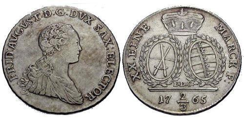 2/3 Thaler Germany Silver