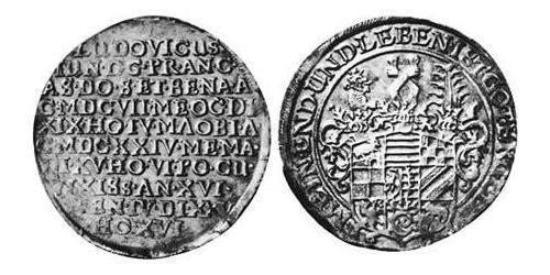 2/3 Thaler Principality of Anhalt-Köthen (1603 -1853) Silver