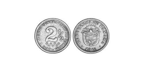 2.5 Centesimo Republic of Panama Copper/Nickel