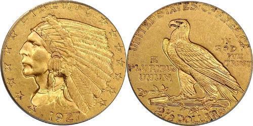 2.5 Dollar USA (1776 - ) Gold