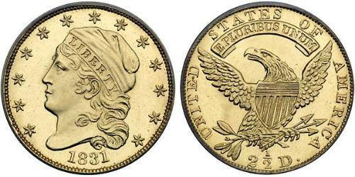 2.5 Dollar USA (1776 - ) Gold