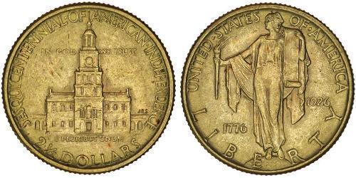2/5 Dollar Vereinigten Staaten von Amerika (1776 - ) Gold