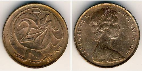 2 Cent Australia (1939 - ) Bronzo