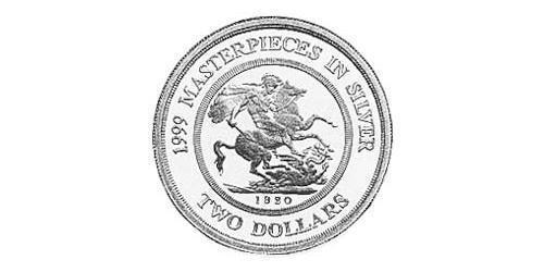 2 Dollar Australia (1939 - ) Silver