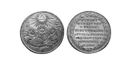 2 Ducat Electorate of Bavaria (1623 - 1806) Gold Ferdinand Maria, Elector of Bavaria (1636 – 1679)