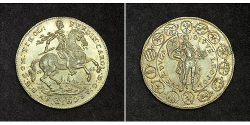 2 Ducat Holy Roman Empire (962-1806) Gold Ferdinand Charles, Archduke of Austria