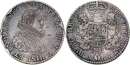 2 Ducaton Dutch Republic (1581 - 1795) Silver Philip IV of Spain (1605 -1665)
