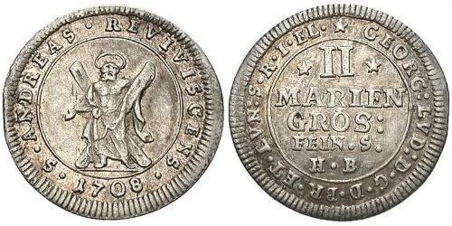 2 Grosh Germany Silver