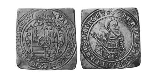 2 Gulden Principality of Transylvania (1571-1711) Silver
