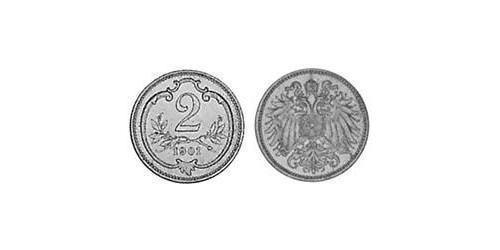 2 Heller Austria-Hungary (1867-1918) Bronze