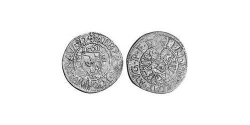 2 Kreuzer Duchy of Bavaria (907 - 1623) Silver Albert V, Duke of Bavaria (1528 – 1579)